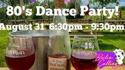 Photo for 80's Dance Party at Bull Run Winery August 31 2019