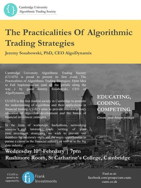 Popular algorithmic trading strategies