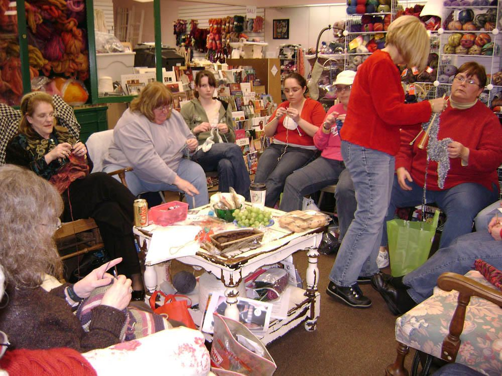 The Mount Holly Knitting Meetup Group Monthly Meetup