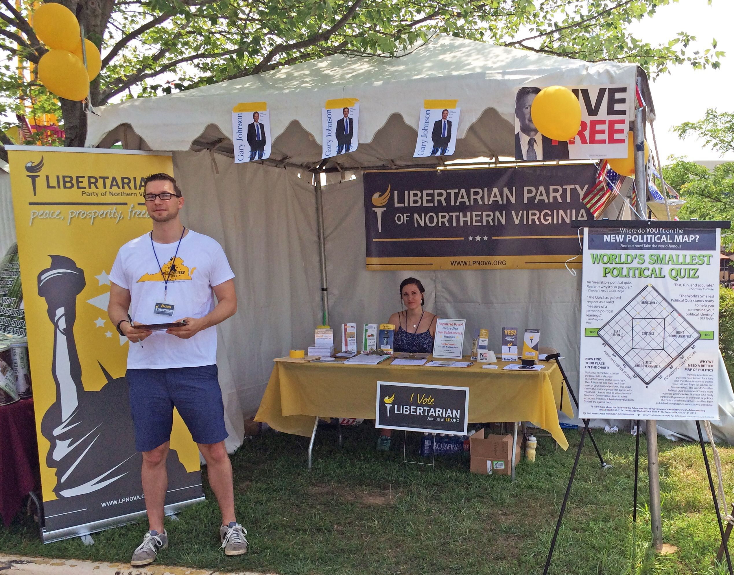 The Northern Virginia Libertarian Meetup