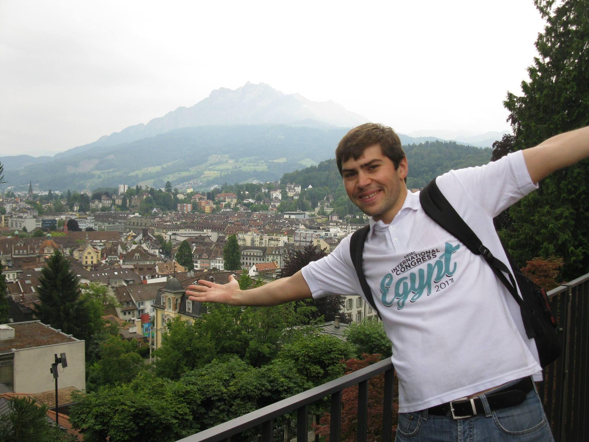 Adrian R. - Luzern and Central Switzerland Socializing (Luzern) | Meetup