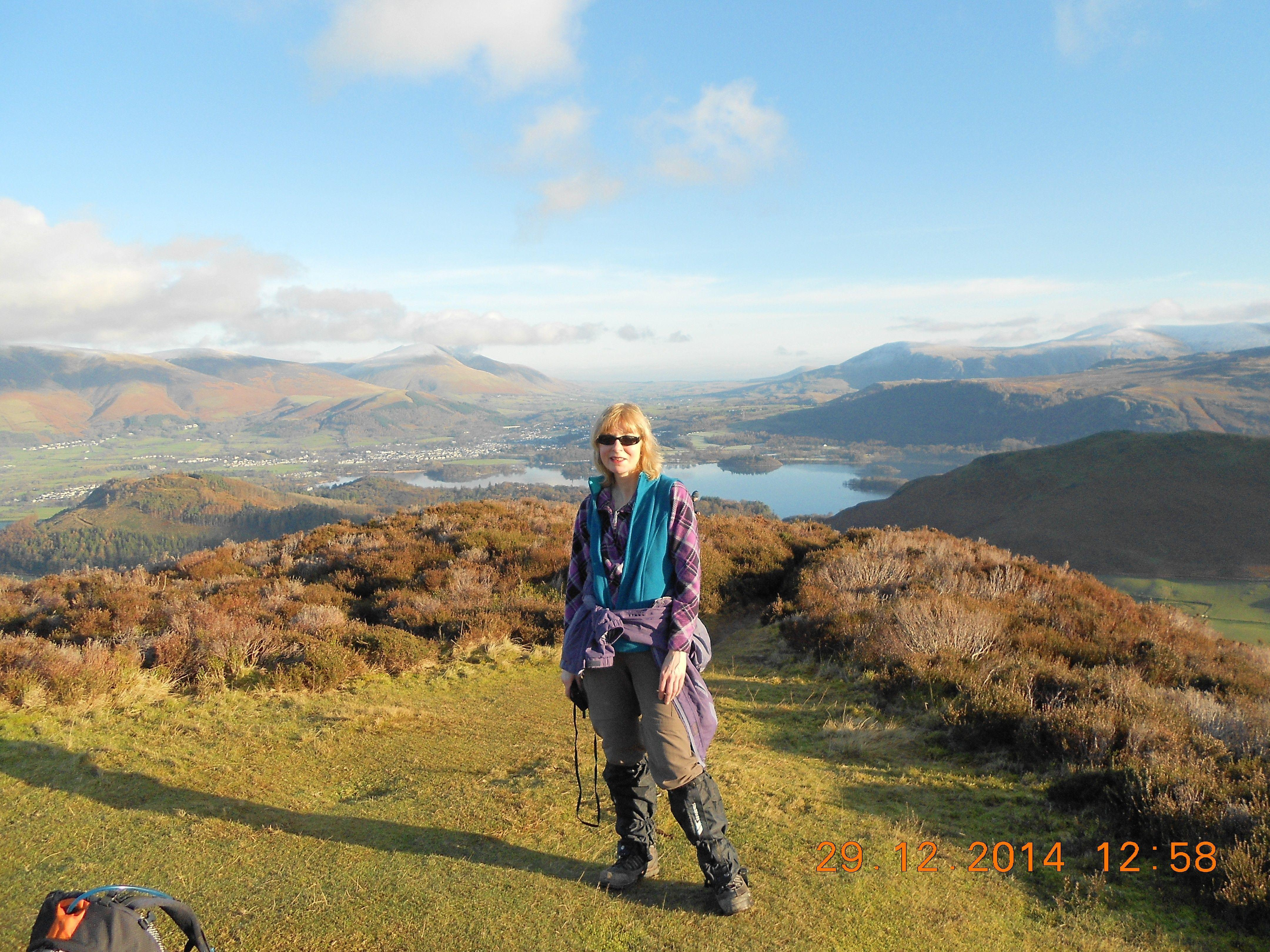 Joanne - Guided hillwalking and backpacking in Scotland