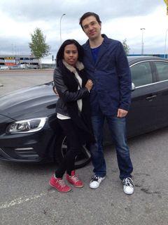 Soniya and Oleg L.