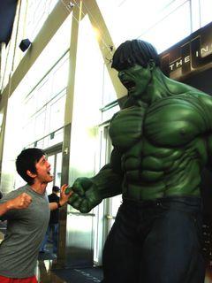 I fought the Hulk & the Hulk w.