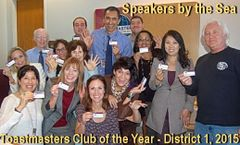 Toastmasters Speakers by the S.