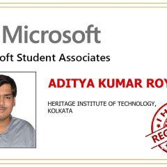 Aditya Kumar R.