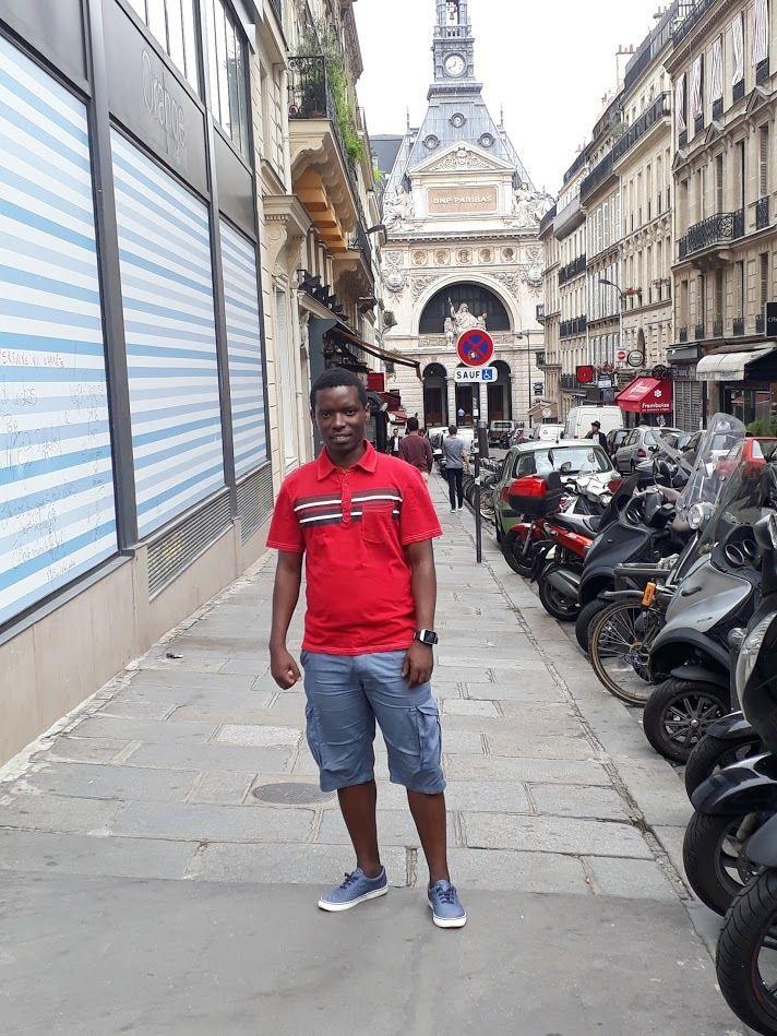 Yves - English Speaking Young Adult Bible Study & Fellowship (Paris