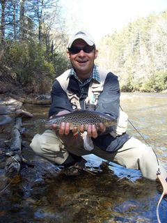 Fly fishing on the chattahoochee river paces mill for Fly fishing atlanta