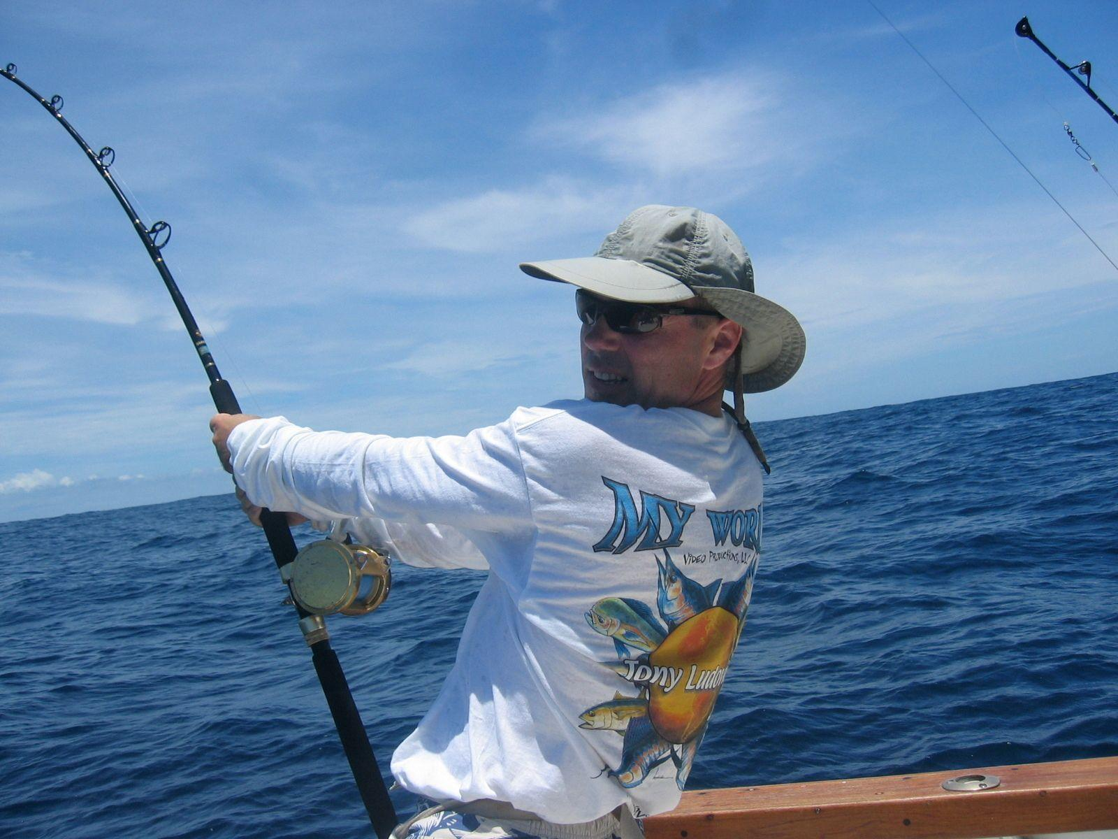 John w hollywood hills saltwater fishing science and for Hollywood florida fishing