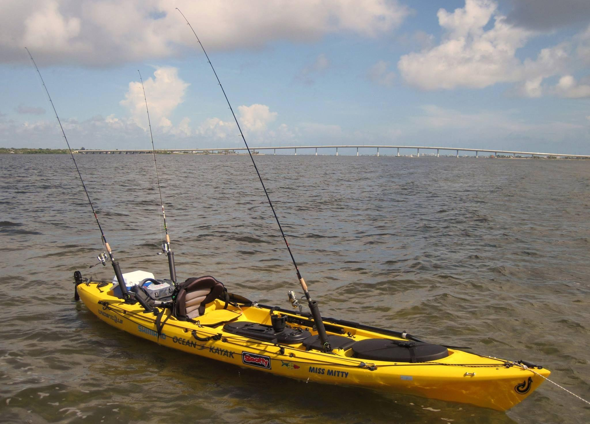 Christina south florida kayak fishing club miami fl for Kayak fishing florida