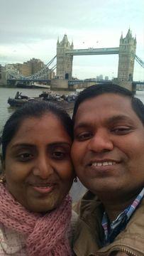 Rashmi and Linganna P.