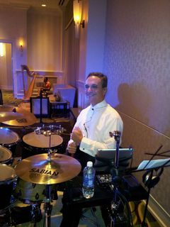 Joe Rubino, drums and p.