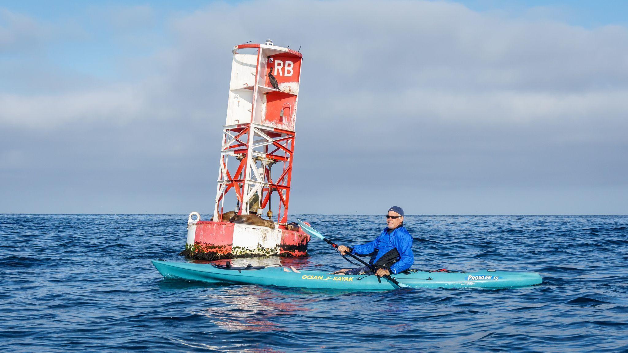 Craig redondo beach santa monica bay kayak fishing for Redondo sport fishing