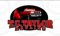 T.C.Taylor Hauling I.