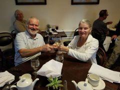Carolyn Cash and John de C.