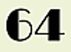 Sixty f.