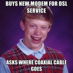 Don the cable g.