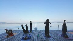 Yoga am See in Z.