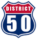 District 50 T.