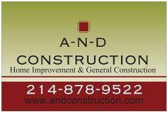 A-N-D CONSTRUCTION, John M.