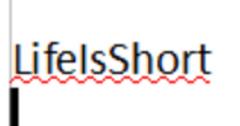 LifeIsShort