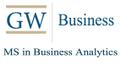 GWU MS in Business Analytics