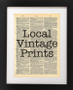 Local Vintage Prints