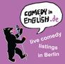 Comedy in English Berlin