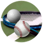 Baseball Golf and Tennis
