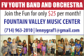 FVMC Youth Band and Orchestra