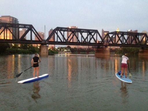 Paddle boarding columbus ohio
